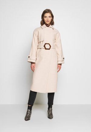 MARSHA BELTED - Trench - cream