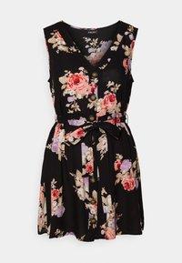 Pieces Petite - PCNISU DRESS - Day dress - black - 0