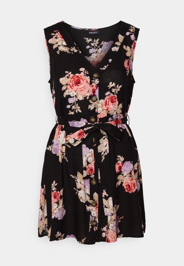 PCNISU DRESS - Korte jurk - black