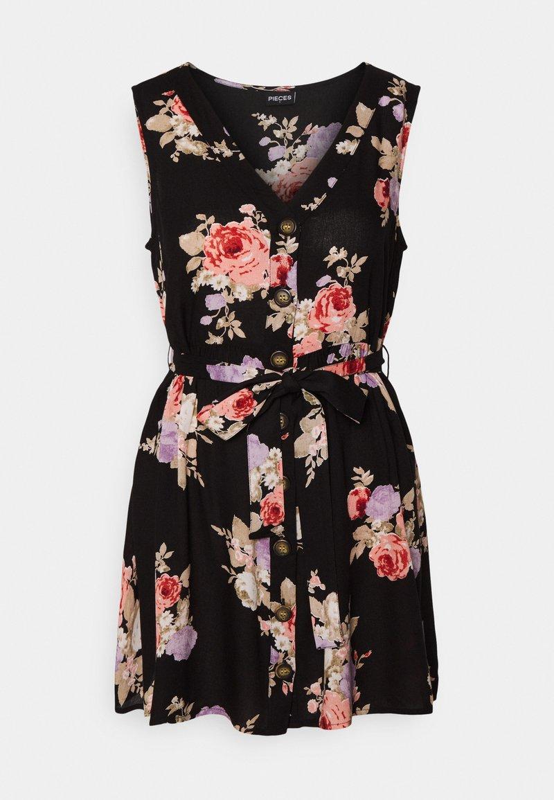 Pieces Petite - PCNISU DRESS - Day dress - black