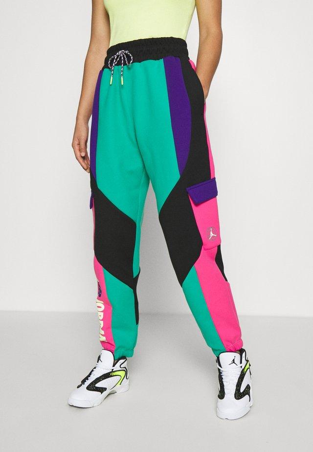PANT - Pantaloni sportivi - neptune green/black/watermelon/court purple