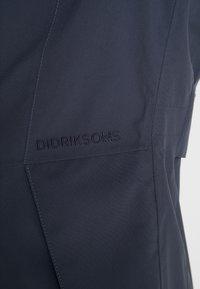 Didriksons - FOLKA WOMEN'S - Waterproof jacket - navy dust - 5