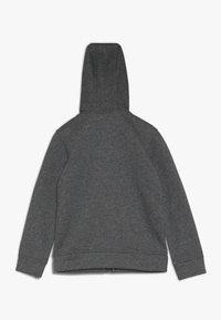 Nike Sportswear - CLUB HOODIE - Felpa con zip - carbon heather - 1