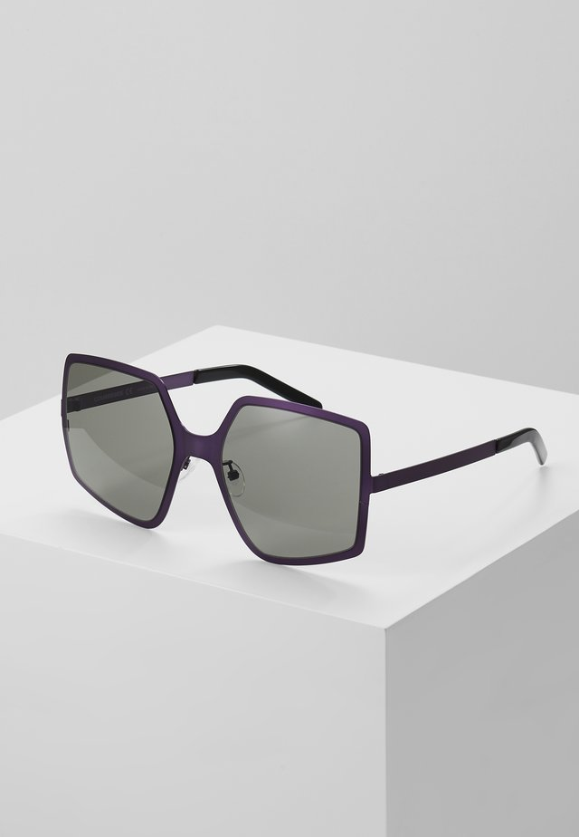 Lunettes de soleil - violet/grey