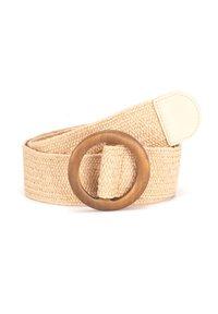 Tamaris - Braided belt - beige - 1