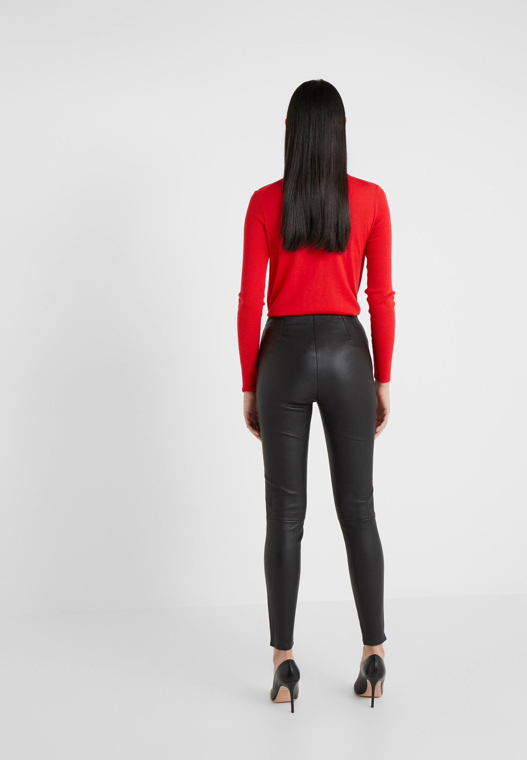 Professional Women's Clothing STUDIO ID LENA Leggings Trousers black nFRrZE5iE