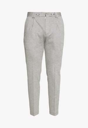 CIJUNO TROUSERS PLEATS - Trousers - grey