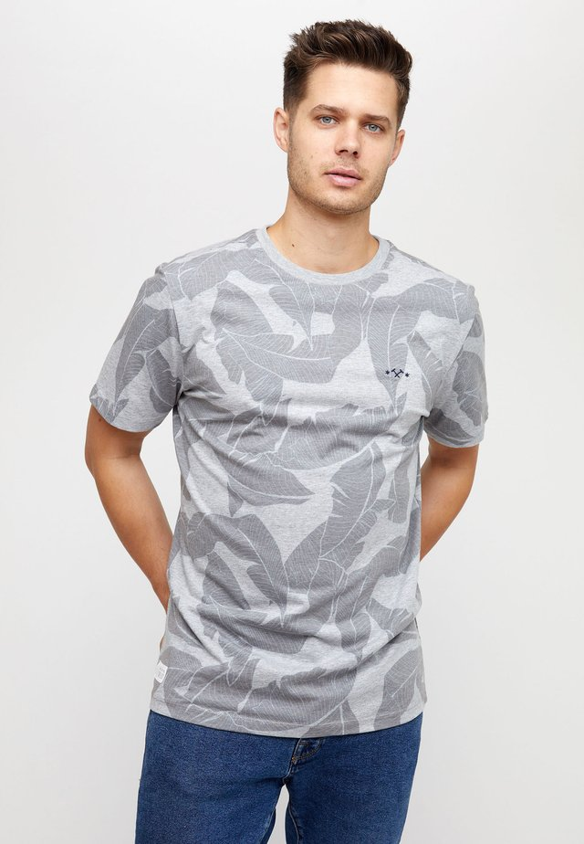 FINDON - T-shirt med print - grey melange