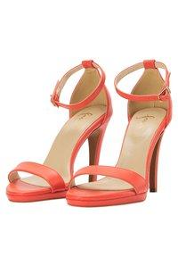 faina - Sandalen met hoge hak - orange - 2
