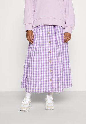 Długa spódnica - lila