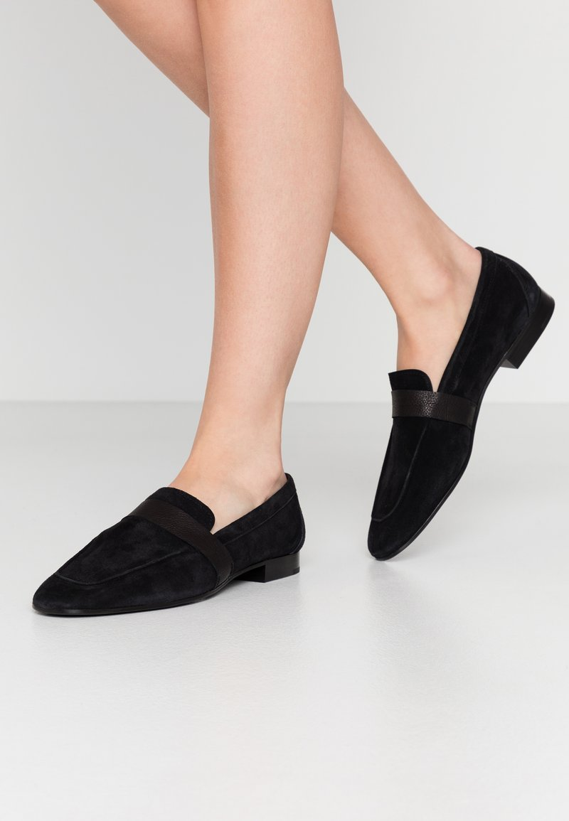 CLOSED - DANDELION - Slip-ons - black