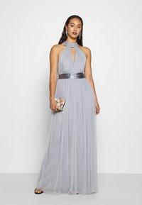 TFNC - ULA - Společenské šaty - grey blue - 1