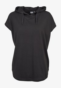 Urban Classics - LADIES SLEEVELESS HOODY - Print T-shirt - black - 5