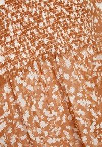 InWear - HAYDEN - Blouse - rust red mini flower - 6