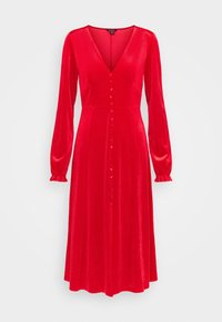Monki - LOUISA DRESS - Vestido de cóctel - red - 4