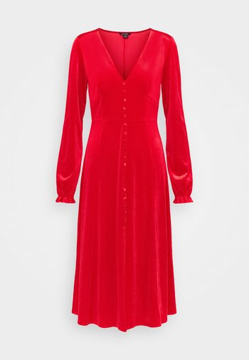 LOUISA DRESS - Cocktailklänning - red