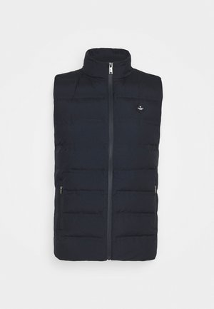 SEAM SEALED GILET - Smanicato - navy