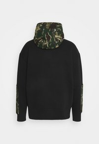 Tommy Jeans - CAMO HOODIE - Sweatshirt - black - 1