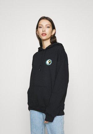 MYSTIC YING YANG HOODIE - Sweatshirt - black