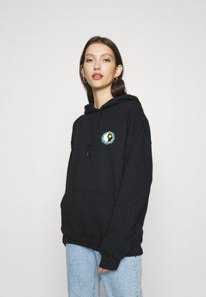 MYSTIC YING YANG HOODIE - Sweater - black