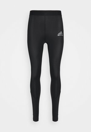 TECH FIT LONG - Tights - black