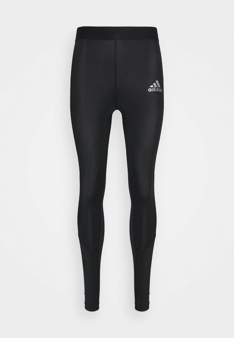 adidas Performance - TECH FIT LONG - Leggings - black