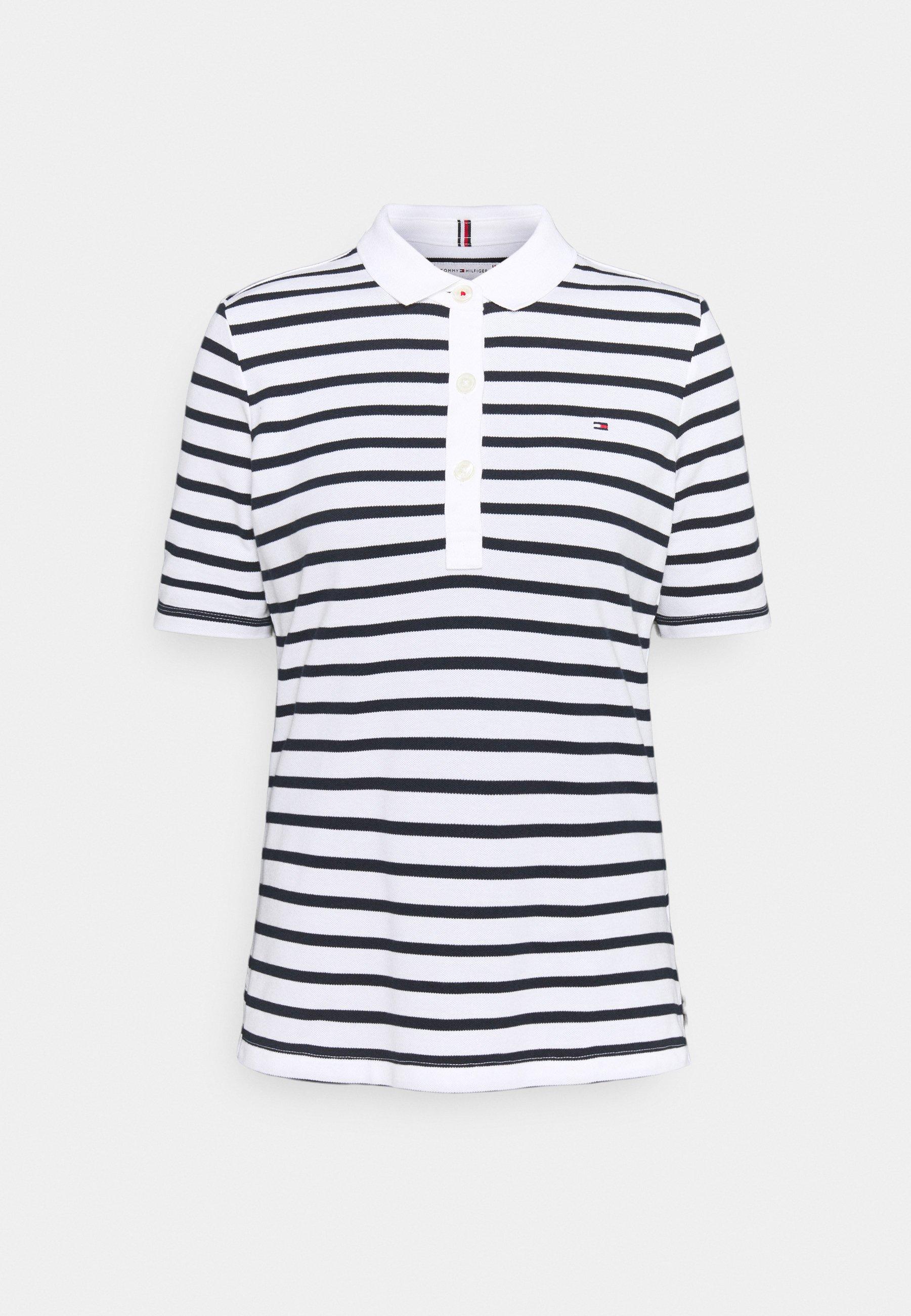 Women SLIM BRETON STRIPE - Polo shirt