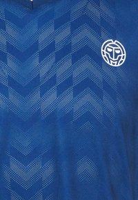 BIDI BADU - Printtipaita - dark blue/aqua - 2
