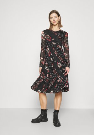 VIMASTI MIDI DRESS - Korte jurk - black