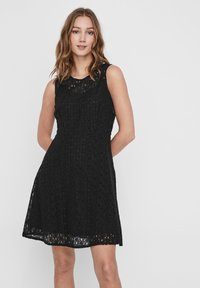 Vero Moda - VMALLIE  - Vestito elegante - black - 0