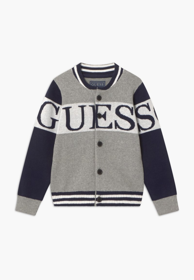 Guess - TODDLER - Chaqueta de punto - blue/grey