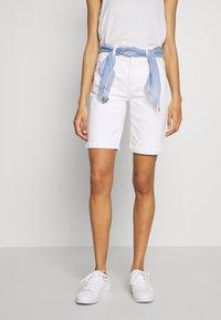 Esprit - Denim shorts - white - 0