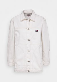Tommy Jeans - WORKWEAR - Short coat - work white rigid - 5