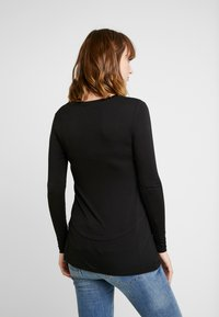 Cotton On - MATERNITY - Long sleeved top - black - 2