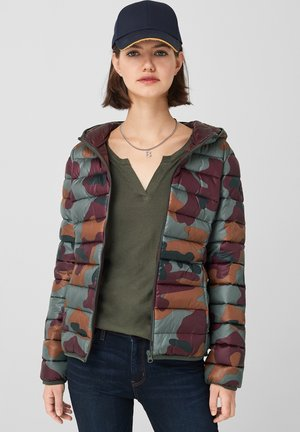 MIT ALLOVER-PRINT - Winter jacket - olive