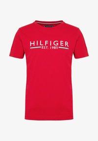 Tommy Hilfiger - TEE - Triko spotiskem - red - 3