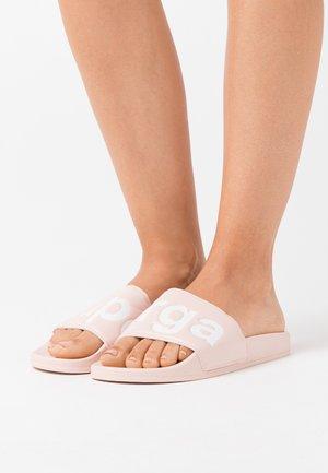 1908 SLIDES  - Pantofle - rosa