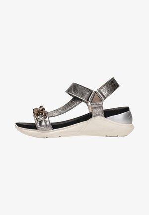 GALIA  - Sandalen met sleehak - lead