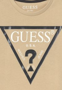 Guess - CORE JUNIOR  - Camiseta estampada - ecru - 3
