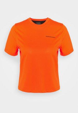 ALUM LIGHT SHORT SLEEVE - T-shirt imprimé - super nova