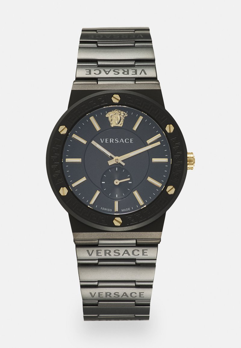 Versace Watches - GRECA LOGO - Watch - black