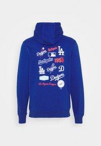 Fanatics - MLB LA DODGERS ICONIC ASSET GRAPHIC HOODIE - Hoodie - royal - 1