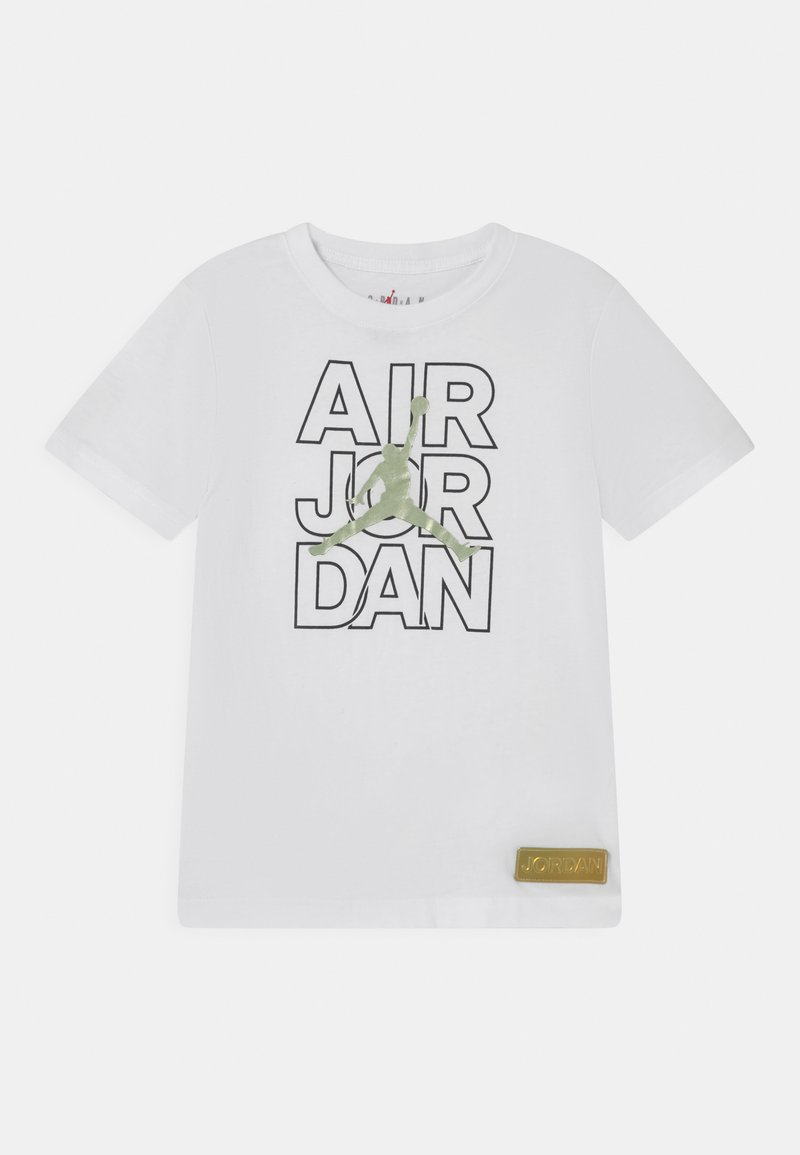 Jordan - AIR JORDAN WILD TRIBES TEE UNISEX - Print T-shirt - white