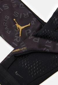 Nike Performance - JORDAN - Gloves - black/anthracite/gold - 2