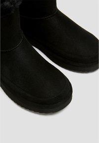PULL&BEAR - Winter boots - black - 6