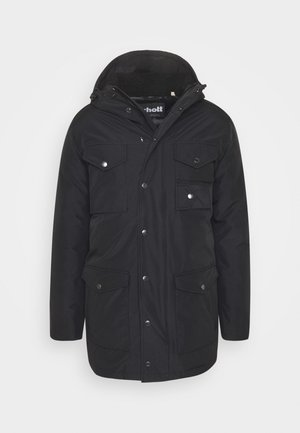 HARRISS - Parka - black