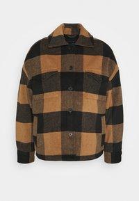 AllSaints - LUELLA CHECK JACKET - Light jacket - brown/black - 5