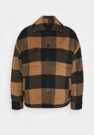 LUELLA CHECK JACKET - Jas - brown/black