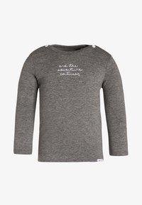 Noppies - PUCK - T-shirt à manches longues - anthracite melange - 0