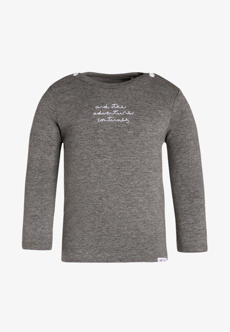 Noppies - PUCK - T-shirt à manches longues - anthracite melange